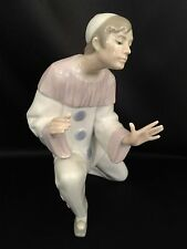 "~FREE FAST SHIPPING~Lladro ""Charmingness"" Clown/Harlequin (4848 Mint Condition)"