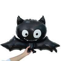 Tier Aluminium Schwarze Fledermaus Halloween Kinder Spielzeug Folienballon