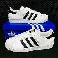 🔵 Adidas Originals Superstar Men's Size Athletic Sneakers White Shell Toe Shoes