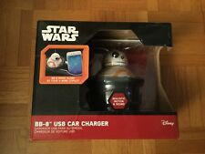 Disney Star Wars BB-8 USB Car Charger Realistic Motion And Sounds
