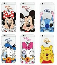 Disney Mickey Donald Minnie Ultra Thin Transparent iPhone / Samsung Galaxy Case