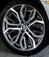 "BMW OEM E70 F15 X5 E71 X6 Y Spoke Style 375 21"" Gloss Turned Performance Rims"
