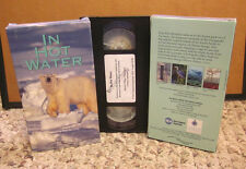 IN HOT WATER Arctic documentary VHS climate change Peter Benchley OG video