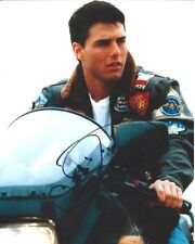 Tom Cruise signed Top Gun 8x10 photo. In Person Proof Mission Impossible Fallout