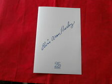 ELVIS PRESLEY~ BROCHURE FOR 25TH ANNIVERSARY PACKAGE~RARE~ MINT~~COLLECTABLES