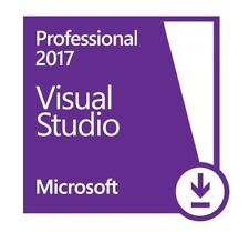 Microsoft Visual Studio Professional 2017 [Lifetime License]