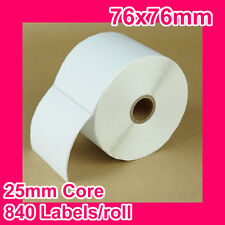 16 rolls of 76x76mm Thermal Direct Label for Zebra/TSC/SATO/DATA MAX/Intermec