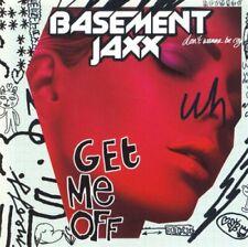 Basement Jaxx - Get Me Off CD ** Free Shipping**