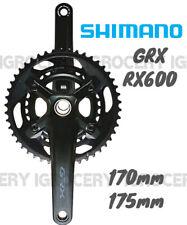 Shimano GRX FC-RX600 2x11speed Crank 46/30T 170/175mm New