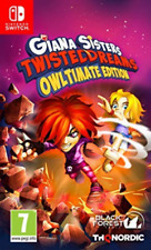 Software - Nintendo Switch-Giana Sisters Owltimate Edition GAME NEW