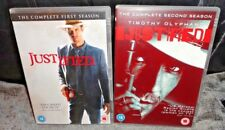 Justified Seasons 1 & 2 (DVDs, 6-Discs) Timothy Olyphant - FAST & FREE