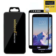 SOINEED For LG Stylo 3 All Model [FULL COVER] Tempered Glass Screen Protector