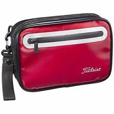 Titleist Golf Round Sport Pouch Bag Ajpch92 Red w/ Tracking New