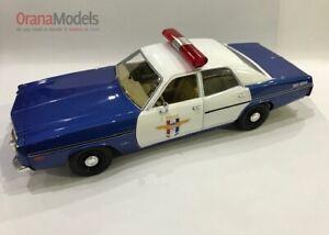 1:18 Dodge Monaco1978 Camp Crystal Lake Police 'Movie' * GL19068