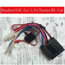 TEU-101BK ESC Gebürstet Brushed ESC Für 1/14 Tamiya RC Auto Reperatur Teile