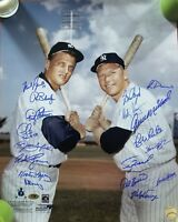 """New York Yankees Stars"" (X18) Hand Signed 16x20 Color Photo MLB Hologram"