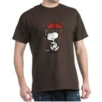 CafePress Peanuts: Snoopy Heart T Shirt 100% Cotton T-Shirt (181901077)