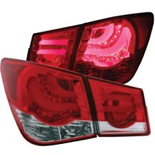 FOR CHEVY CRUZE 2011-2013 L.E.D LED TAIL LIGHTS tail LAMP RED/CLEAR Pair LH+RH