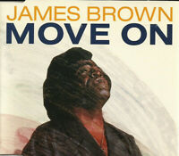 FRENCH CD MAXI SINGLE JAMES BROWN MOVE ON EDITION RARE COLLECTOR COMME NEUF 1991