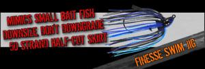 Dirty Jigs Finesse Swim Jigs Choose Size / Color