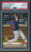 2019 Topps Now Pete Alonso Rookie Cup RC PSA 10 Gem Mint Card #RC2