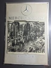 1953 Mercedes-Benz Factory Issued Calendar RARE!! Awesome L@@K