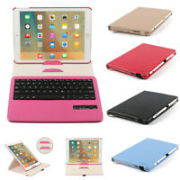 360 Rotate 2016 ipad pro 9.7 Case cover Folio PU Leather Removable Keyboard Case
