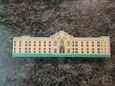 Custom Wood Gifts VMI barracks, stonewall Jackson statue free shipping