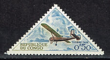 Congo African Aviation stamp 1968 MNH