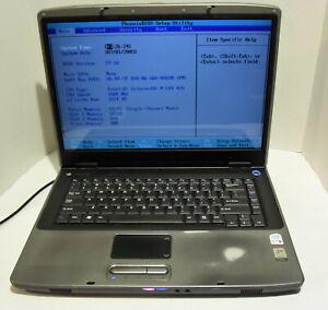 Gateway MX6214 (Intel Celeron M 1.60GHz 512MB) Notebook/Laptop - NO HDD