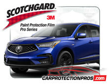 2019 Acura RDX A-Spec 3M Pro Series Clear Bra Deluxe Paint Protection Kit