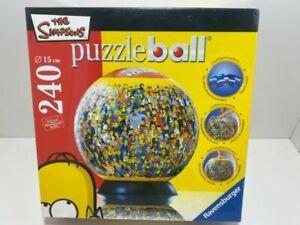 NEW The Simpsons 240 Piece Puzzleball Jigsaw Puzzle Ball Rare Ravensburger Globe