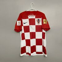 Luka Modric signed Croatia Home Jersey (Signed on July 17, 2019 in Canada)