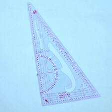 Plastic Measure Clothes 1:3 1:4 1:5 Proportion 90 Degree Triangle Scale Ruler