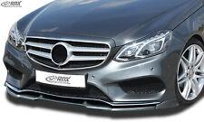 RDX Frontspoiler VARIO-X für MERCEDES E-Klasse W212 AMG-Styling ab 2013