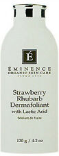 Eminence Strawberry Rhubarb Dermafoliant Lactic Acid 4.2oz All Skin Brand  New