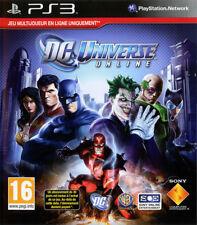 DC UNIVERSE ONLINE / SONY PS3 / NEUF SOUS BLISTER D'ORIGINE / VERSION FRANÇAISE