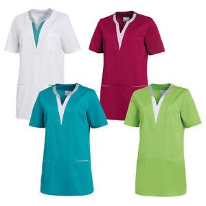 Leiber Damen Schlupfkasack Damenkasack Kasack Arbeitskleidung Pflege Kurzarm