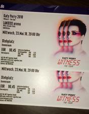 Katy Perry Tickets - 23.05.2018 - Lanxess Arena Köln - Stehplätze Innenraum