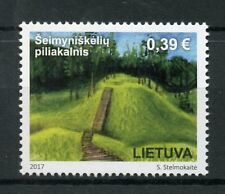 Lithuania 2017 MNH Tourism Mounds 7th Century Hillfort 1v Set Stamps