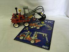 LEGO 8837, Technic Löffelbagger Pneumatic komplett, top. Aussteller Sammler