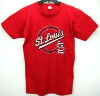 Vintage 1987 Champion Men's Size Large St. Louis Cardnals T Shirt MLB USA