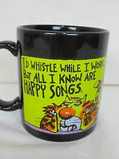 ShoeBox Greetings I'd Whistle While I Work Coffee Mug Cup Cat Happy Songs