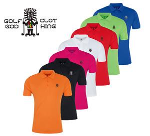 Golf God Clothing Performance Polyester Polo Shirt / Golf Top / Golf Shirt