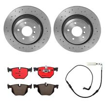 Brembo Xtra Drill Rear Brake Kit Ceramic Pads Disc Rotors for BMW E90 E92 E93