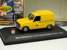 Nostalgie 1/43 - Renault 4 F4 PTT 1974