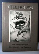THE GOLEM by Isaac Bashevis Singer 1996 Illustrated by Uri Shulevitz  HC/DJ