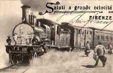 Normalformat Ansichtskarten aus Italien mit dem Thema Eisenbahn & Bahnhof