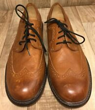 FOSSIL Mens Brown Leather Lace Up Shoes Size 13 EUC
