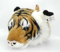 Uni-Toys Neuware großer brauner Tiger Kopf Trophäe